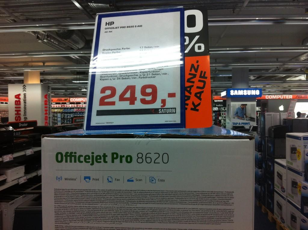 HP8620の価格・デュッセルドルフ