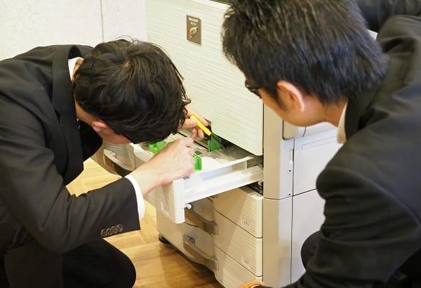 【コピー機・複合機のよくある故障ランキング】紙詰まり、用紙のシワ、印刷が出ないがBEST3