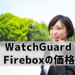 【WatchGuard Fireboxの価格】相場は何円?ケース別の価格例も!IT商材専門家が紹介